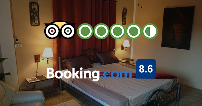 Bellmans ratings at Booking.com and TripAdvisor